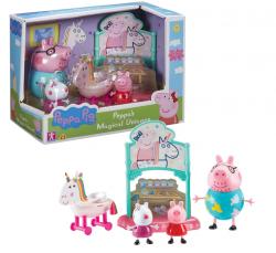 Świnka Peppa Zestaw Jednorożec + 3 Figurki TM Toys 07171