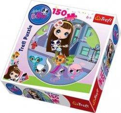 Puzzle Okrągłe Littlest Pet Shop 150 el. Trefl 39090