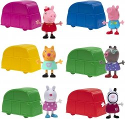 Świnka Peppa Figurka Blind Auto Niespodzianka TM Toys 00690