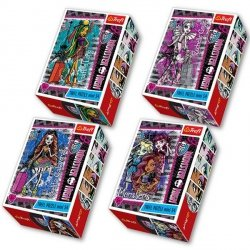 Puzzle Monster High mini 54 el. Trefl 54121