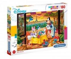 Puzzle Klasyka Disneya: Donald Daisy i Goofy 180 el. Clementoni 29296
