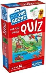 Quiz Gdzie raki zimują Mini Granna 00214