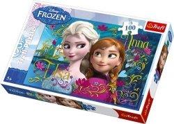 Puzzle Frozen Kraina Lodu 100 el. Trefl 16255