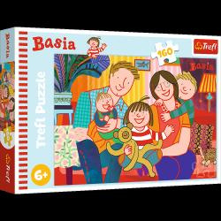 Puzzle Poznaj Basię 160 el. Basia Trefl 15409