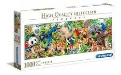 Puzzle Panoramiczne Dzikie życie 1000 el. Clementoni 39517