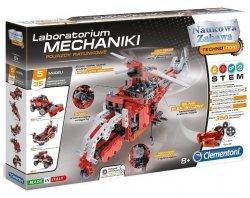 Zestaw Naukowy Laboratorium Mechaniki Pojazdy Ratunkowe Clementoni 60476