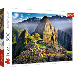 Puzzle Zabytkowe Sanktuarium Machu Picchu 500 el. Trefl 37260