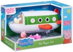 Figurka Świnka Peppa Zestaw z Samolotem TM Toys 06227