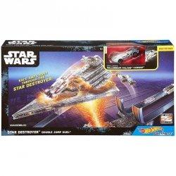 Hot Wheels Star Wars Gwiezdne Wojny Autostatki Zestaw Mattel DPV37