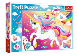 Puzzle Piękny Jednorożec 100 el. Trefl 16286