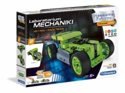 Laboratorium Mechaniki Samochód Hot Rod i Race Truck Clementoni 50634