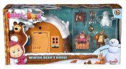 Zimowy Domek Niedźwiedzia Masza i Niedźwiedź Simba 9301023