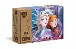Puzzle Kraina Lodu 2 Frozen 2 104 el. Clementoni 27154