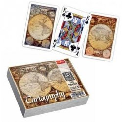 Karty 2 x talia Cartography Trefl 15971