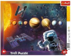 Puzzle Ramkowe Układ Słoneczny 25 el. Trefl 31342