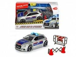 Pojazd SOS Policja Audi RS3 Dickie 3713011