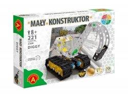 Zestaw Konstrukcyjny Mały Konstruktor Diggy 221 el. Alexander 2309