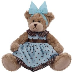 Maskotka Misia Daizy w Sukience 33 cm Beppe 12972