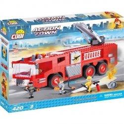 Klocki Action Town Lotniskowy wóz strażacki 420 el. Cobi 1467
