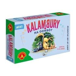 Gra Towarzyska Kalambury Na Odwrót Wersja Mini Podróżna Alexander 2537