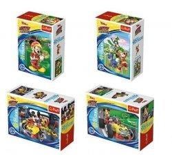 Puzzle Wyścigi terenowe Myszka Miki 20 el. Trefl 56006