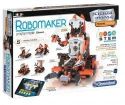 Laboratorium Robotyki Edukacyjnej RoboMaker Robot dla Dzieci Naukowa Zabawa Clementoni 50523