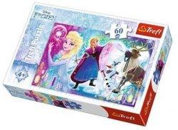 Puzzle Niespodzianka dla Elsy Frozen 60 el. Trefl 17314