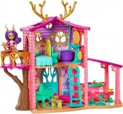 Enchantimals Domek Jelonków Zestaw Mattel FRH50