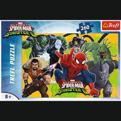 Puzzle Spiderman w Akcji 260 el. Trefl 13218