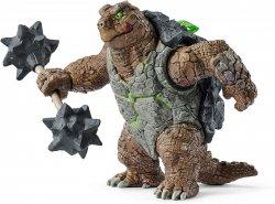 Żółw Pancerny Z Bronią Figurka Schleich 42496