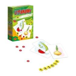 Gra Edukacyjna Literkowy Wyścig Mini Alexander 0398
