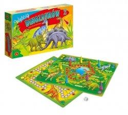 Gra Planszowa Wyścig Dinozaurów Alexander 0558