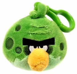 Angry Birds Space Pluszowy brelok Fat Green Bird Epee 92738