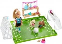 Lalka Barbie Chelsea Boisko do Piłki Nożnej Mattel GHK37