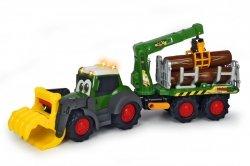 Traktor Happy Fendt Leśny Zestaw Dickie 3819003