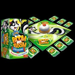Gra Karciana Boom Boom Śmierdziaki Trefl 01910
