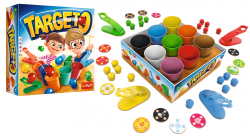 Gra Zręcznościowa Targeto Kubeczki Trefl 01900