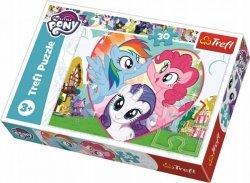 Puzzle Razem Lepiej My LIttle Pony 30 el. Trefl 18241