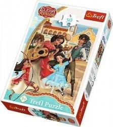 Puzzle Przyjaciele na zawsze Elena z Avaloru 30 el. Trefl 18224