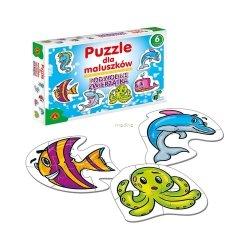 Puzzle dla Maluszków Podwodne Zwierzątka 27 el. Alexander 0536