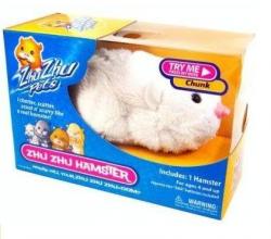 Interaktywny Chomik Zhu Zhu Pets Biały Chunk TM Toys