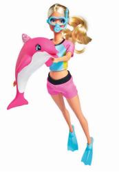 Lalka Steffi Zabawa z delfinem Simba 5733202