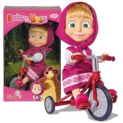 Lalka Masza na rowerku Simba 9302059