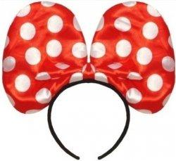 Opaska Myszka Minnie ze Światłem Czerwona