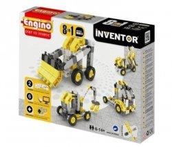 Klocki konstrukcyjne Engino Inventor 8w1 Pojazdy przemysłowe Engino Formatex 0834