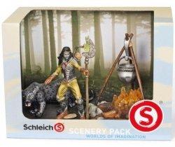 Figurka Sceneria Ognisko Schleich 41811