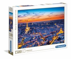 Puzzle Widok na Paryż 1500 el. Clementoni 31815