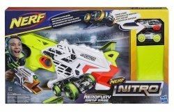 Wyrzutnia Nerf Nitro Aerofury Ramp Rage + 2 samochody Hasbro E0408
