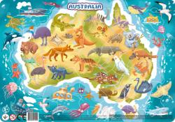 Puzzle Ramkowe Australia 53 el. Dodo 300179