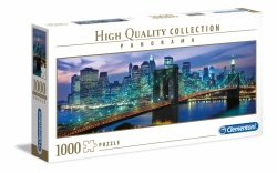 Puzzle Panoramiczne Nowy Jork Most Brookliński 1000 el. Clementoni 39434